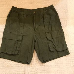 Gander Mtn cargo shorts. Size 34
